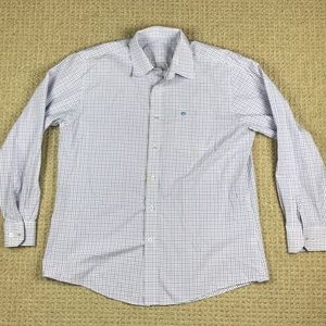 Southern tide button down long sleeve shirt Large